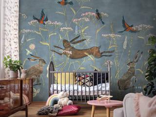 Обои WONDERLAND Детская комнатa в скандинавском стиле от FACTURA Скандинавский