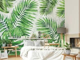 Обои TROPICAL Спальня в тропическом стиле от FACTURA Тропический