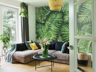 Обои TROPICAL Гостиная в тропическом стиле от FACTURA Тропический