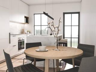 Minimalist Apartment in Winchester Hills: minimalist  by Inside Ordinary, Minimalist