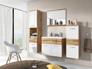 Meble Minio BathroomShelves Chipboard Wood effect