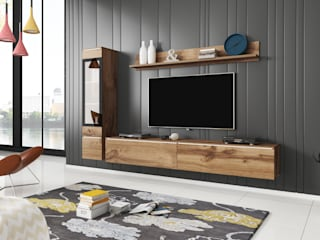 Meble Minio Living roomCupboards & sideboards Chipboard Wood effect