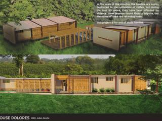 Nhà phong cách đồng quê bởi JAM architecture Đồng quê