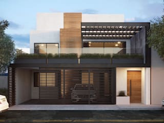 4 + Arquitectura Single family home Concrete White