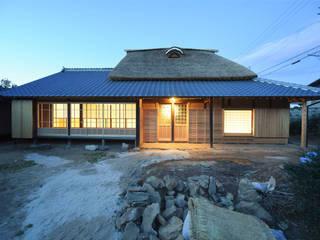 愛知の茅葺き再生 日本家屋・アジアの家 の 水野設計室 和風