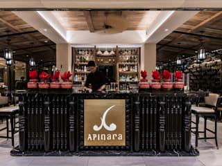Apinara Thai Cuisine Asian style bars & clubs by RN Design Studio Asian