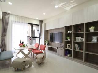 簡單生活 根據 張顥騰室內裝修設計有限公司 北歐風
