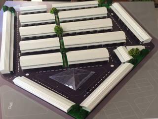 Samsun Terme Yeni Sanayi Kooperatifi Maket Çalışması Faruk Doğru Mimarlık Endüstriyel
