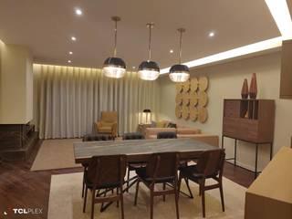 Moradia Unifamiliar, Mafra Salas de jantar ecléticas por CMM Interiores, Ambientes & Decoração Eclético