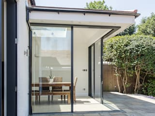 Detached House London N20 RS Architects Modern Dining Room