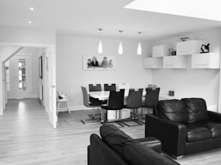 Side & Rear Extension RS Architects Modern Living Room
