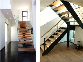Funcionalidad, diseño y materialidad. de LSJ Arquitecto Moderno