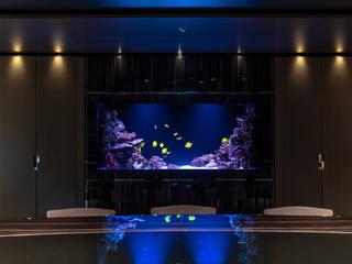 Acquario Marino di MELIK LUXURY Aquarium Minimalista