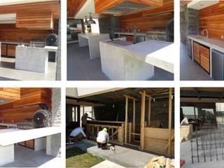 Quinchos y terrazas Balcones y terrazas modernos de LSJ Arquitecto Moderno