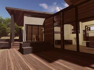 Proyecto B.M. Balcones y terrazas modernos de MS Arquitectos Moderno