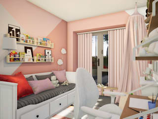 Revisite Modern nursery/kids room