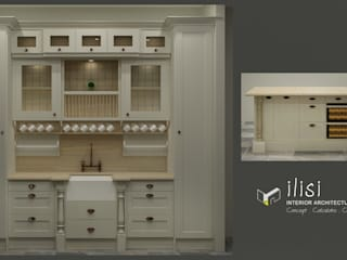 French Country Custom Kitchen by ilisi Interior Architectural Design Country
