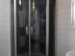 Sakura Ahşap BathroomDecoration Wood White