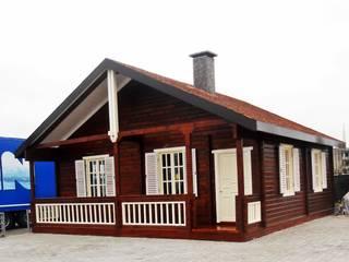Sakura Ahşap Log cabin Wood Wood effect