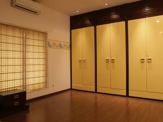 Rich & Aki Boys Bedroom Plywood Yellow