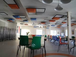 Pakkan Okulları Fales Akustik Çözümler Modern Yemek Odası