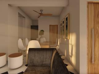 Modern dining room by designasm Studio Modern