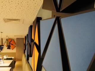 Acıbadem Hastanesi Fales Akustik Çözümler Modern Yemek Odası