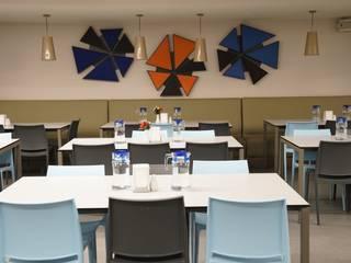 Acıbadem Hastanesi Modern Yemek Odası Fales Akustik Çözümler Modern