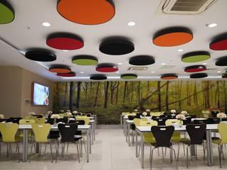 Flo Genel Müdürlük Fales Akustik Çözümler Modern Yemek Odası