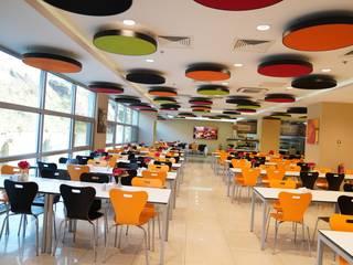 Flo Genel Müdürlük Modern Yemek Odası Fales Akustik Çözümler Modern