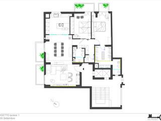 Progetto via XX Settembre di The Apartment Moderno