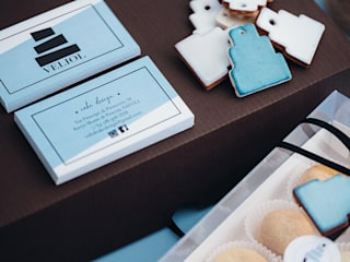 manuarino architettura design comunicazione Offices & stores Ceramic Turquoise