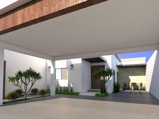 Proyecto Residencial JL de Osuna Arquitecto Moderno