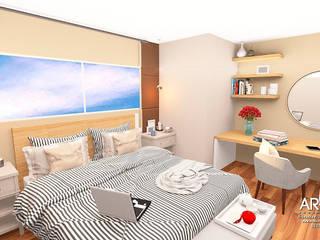 Moderne Schlafzimmer von ARDIN INTERIORISMO Modern