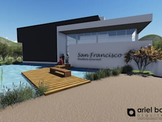 Aceitera Gourmet San Francisco, San Luis Bodegas eclécticas de BonomoArquitectura Ecléctico