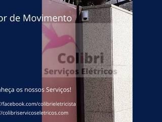 Colibri Serviços Elétricos Dükkânlar Plastik Şeffaf