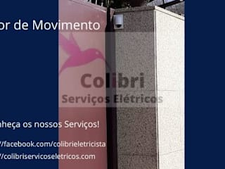 Colibri Serviços Elétricos Ruang Komersial Modern Plastik Transparent