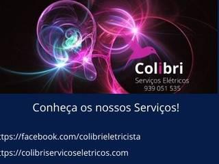 Colibri Serviços Elétricos Dom szeregowy Miedź/Brąz/Mosiądz Srebrny