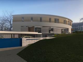 現代房屋設計點子、靈感 & 圖片 根據 A.FUKE-PRIGENT ARCHITECTE 現代風