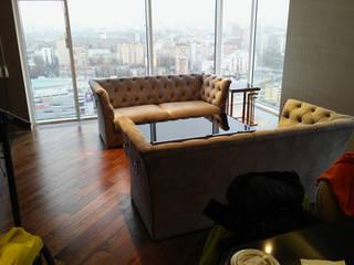 Проект №6 Гостиная в азиатском стиле от ООО 'Топ-ремонт' Азиатский