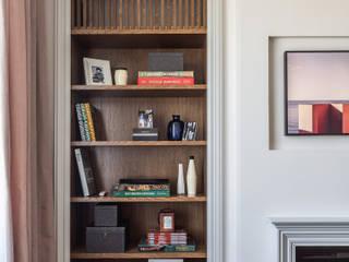 Дизайн квартиры 43 метра для девушки Гостиная в стиле модерн от Дизайнер Алина Лютая Модерн