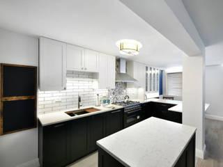 Проект №5 Кухня в азиатском стиле от ООО '100личный ремонтник' Азиатский