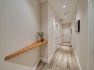 Проект №6 Коридор, прихожая и лестница в азиатском стиле от ООО '100личный ремонтник' Азиатский