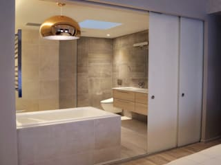 Проект №8 Ванная в азиатском стиле от ООО '100личный ремонтник' Азиатский