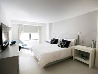Проект №9 Спальня в азиатском стиле от ООО '100личный ремонтник' Азиатский