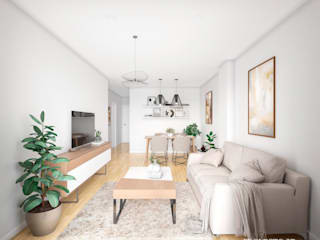 Proyecto 3D Valencia Renders Animaciones 3D Infografias Online Living roomAccessories & decoration