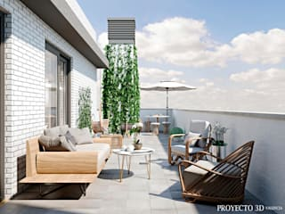 Proyecto 3D Valencia Renders Animaciones 3D Infografias Online Balconies, verandas & terraces Accessories & decoration