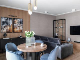 Anna Serafin Architektura Wnętrz Classic style dining room Wood Beige