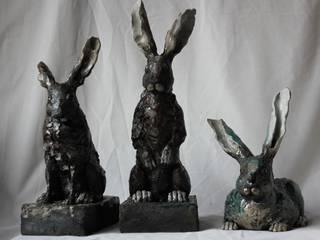 Lebres por Catarina Alves Escultura