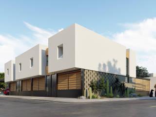 Diseño de Departamentos contemporáneos en Hermosillo de Merarki Arquitectos Minimalista